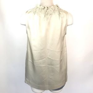 Marc By Marc Jacobs Tops - Marc Jacobs size S beige silk sleeveless blouse